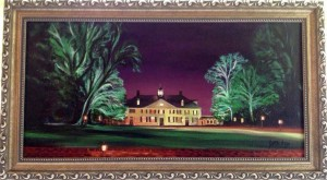 Mount Vernon at Night