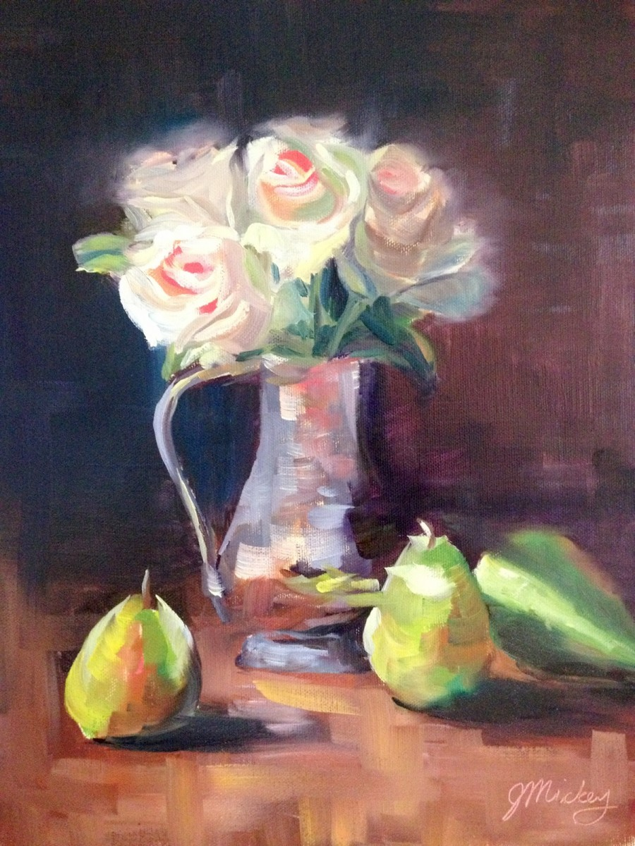 Pears & Roses
